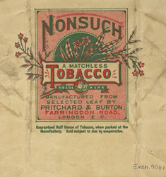 Advert for Nonsuch Tobacco
